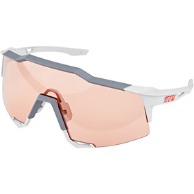 100% Speedcraft Gafas Alta, soft tact stone grey/HD multilayer/hiper
